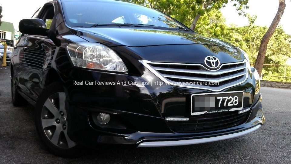 Front view of Toyota Vios GT Street