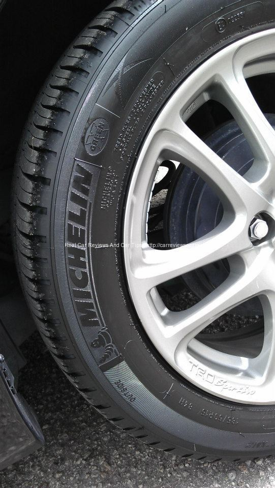 Michelin XM2 Tyres with lightweight TRD Sportivo Sport Rims