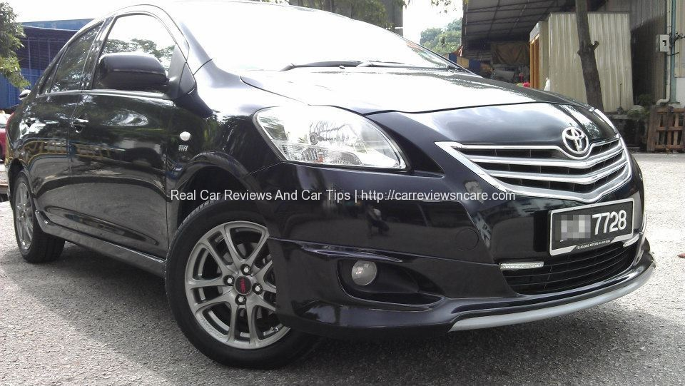 Front View Toyota GT Street Vios