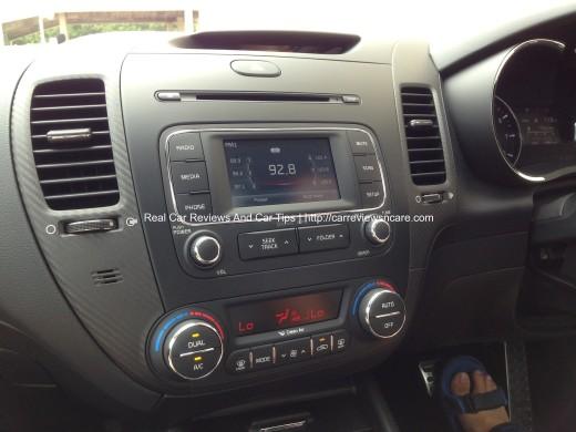 Naza Kia Cerato 2.0 Dashboard