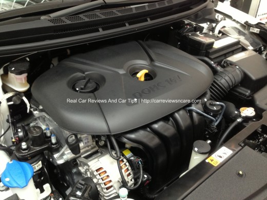 Naza Kia Cerato 2.0 NU Engine 161 PS and 194 Nm at 4800rpm