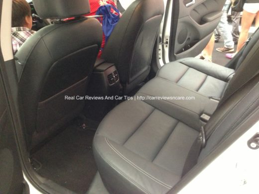Naza Kia Cerato 2.0 Rear Air Vent