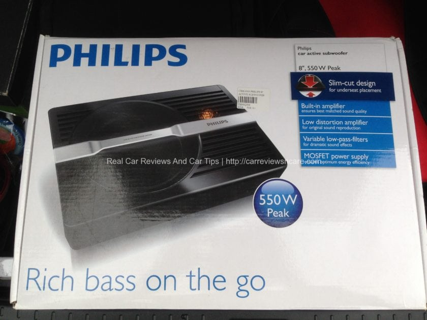 Philips Car Active Subwoofer