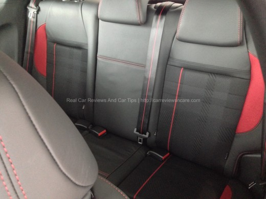 Peugeot GTi Leather Rear Seat