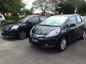 Penang Honda Jazz Hybrid 1.3L CKD Test Drive Story at Teluk Bahang