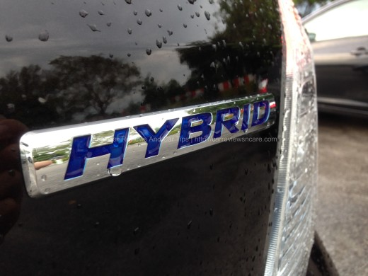 Honda Jazz Hybrid 1.3 CKD badge
