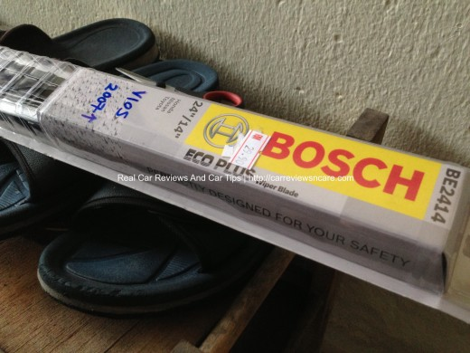 BOSCH ECO PLUS Windshield Wiper Blades for Toyota Vios