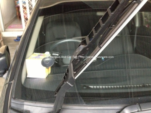 BOSCH ECO PLUS Windshield Wiper Blades on Toyota Vios