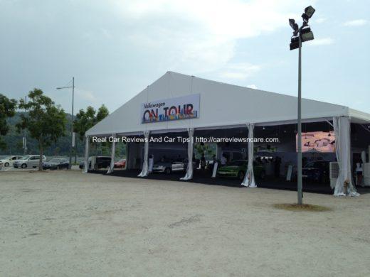 Volkswagen On Tour Queensbay Mall Outdoor Car Park 2013