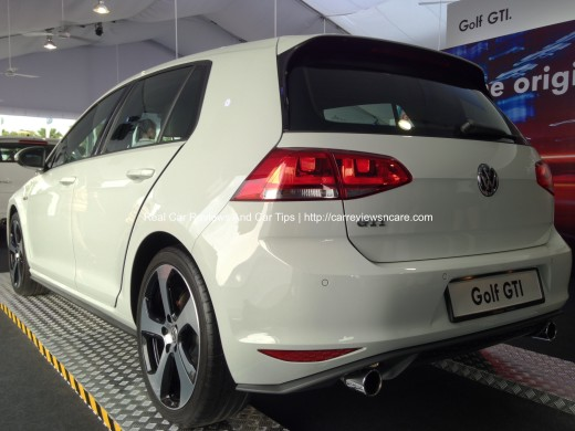 Volkswagen On Tour The Golf GTi Rear View
