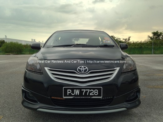 smoked headlamp Toyota Vios