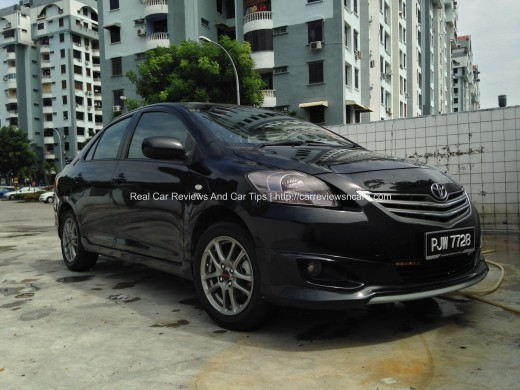 Turtle Wax - Wax it Wet Completed on Toyota Vios
