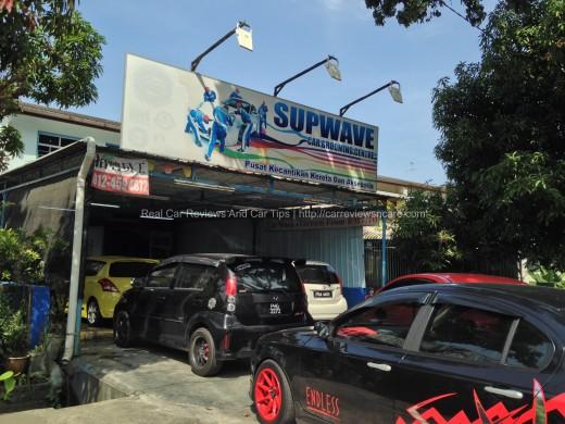 PENANG SUPWAVE CAR GROAMING CENTRE/CAR WASH