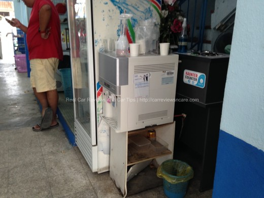 SUPWAVE Car Groaming Centre Drinking Machine