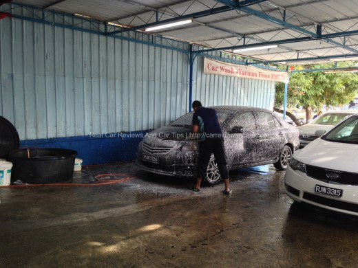 PENANG SUPWAVE CAR Wash Bay 2