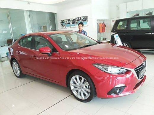 2014 Skyactiv Mazda 3 2.0L and Kelvin Ang