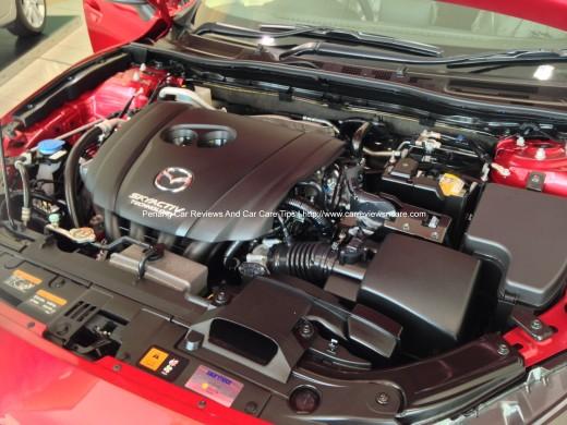 2014 Skyactiv Mazda 3 155-hp SKYACTIV-G 2.0L Engine