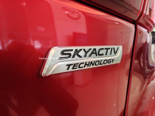 2014 Skyactiv Mazda 3 2.0L with Skyactiv Technology Badge