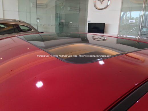 All new Skyactiv Mazda 3 2.0L Sunroof