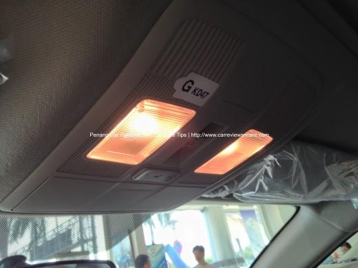 2014 Skyactiv Mazda 3 2.0L Reading Lamps