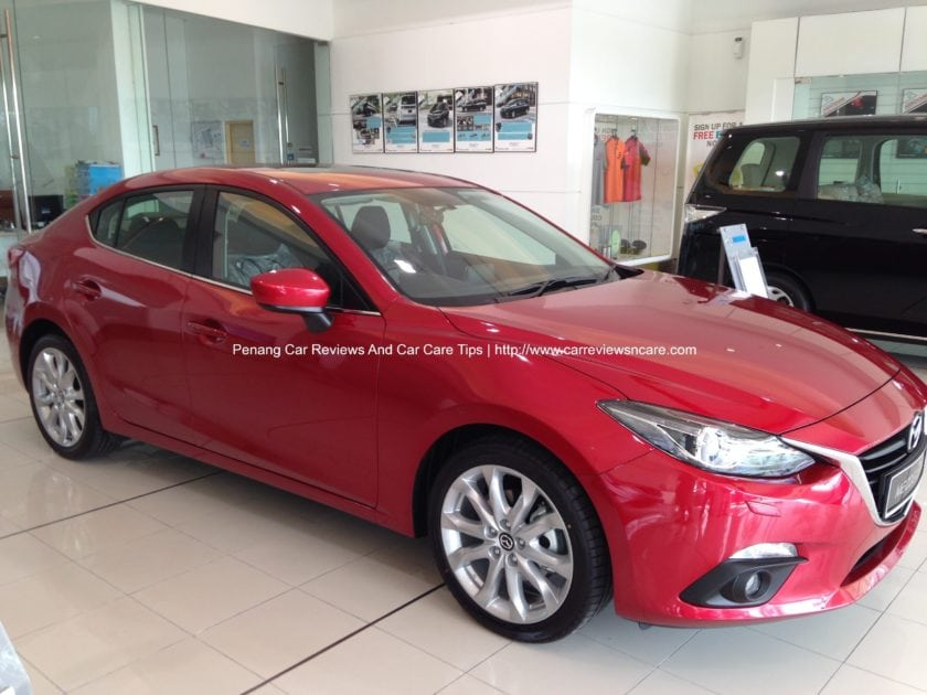 2014 Skyactiv Mazda 3 2.0L Side View