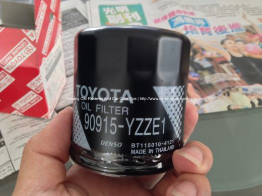 Genuine Toyota Vios Oil Filter 90915-YZZE1