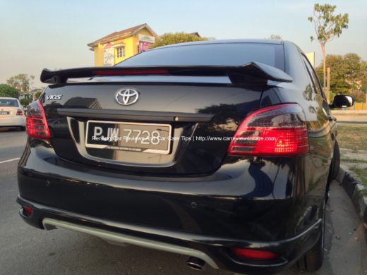 Tinted Toyota Vios Tail Lamp 2