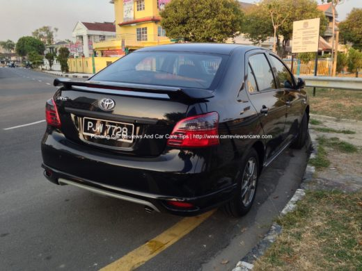 Tinted Toyota Vios Tail Lamp 3