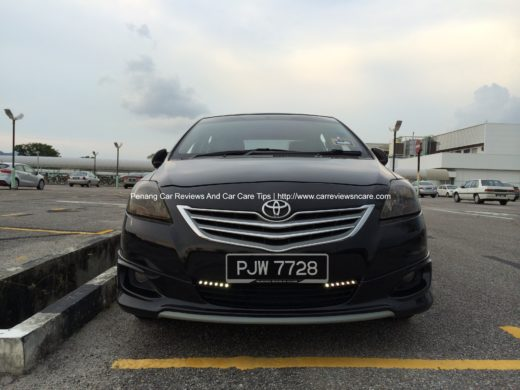 Toyota Vios Tinted Headlamp Front View