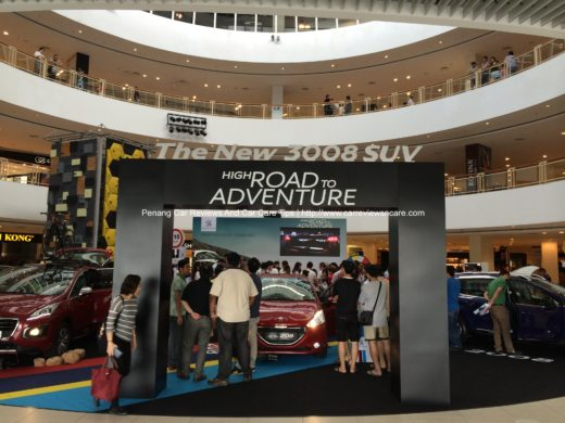 Peugeot 3008 Roadshow in Queensbay Mall