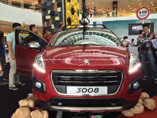 All new Peugeot 3008 roadshow in Queensbay Mall