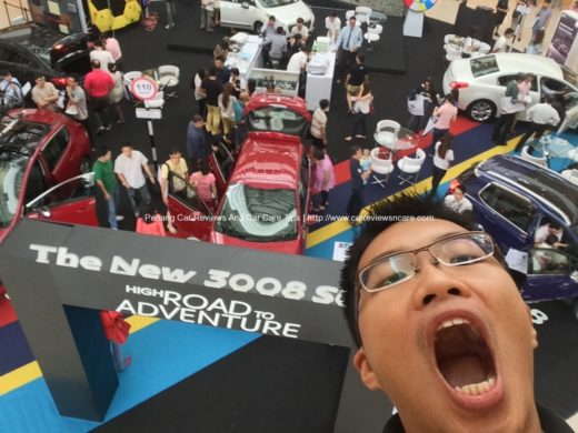 Kelvin Ang Tzu Thian on #Peugeotselfie in Queensbay Mall