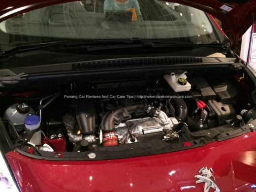 All new Peugeot 3008 Engine Bay