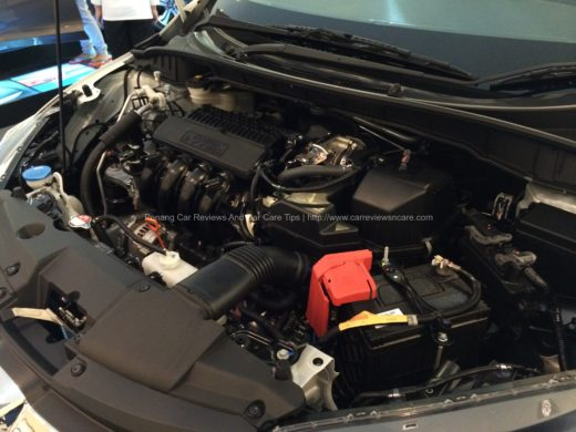 All New Honda City i-VTEC Engine Bay