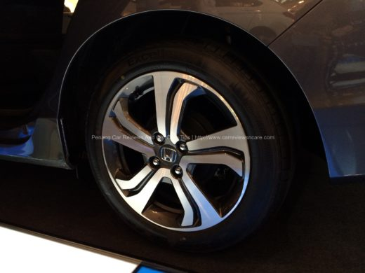All New Honda City V Wheel