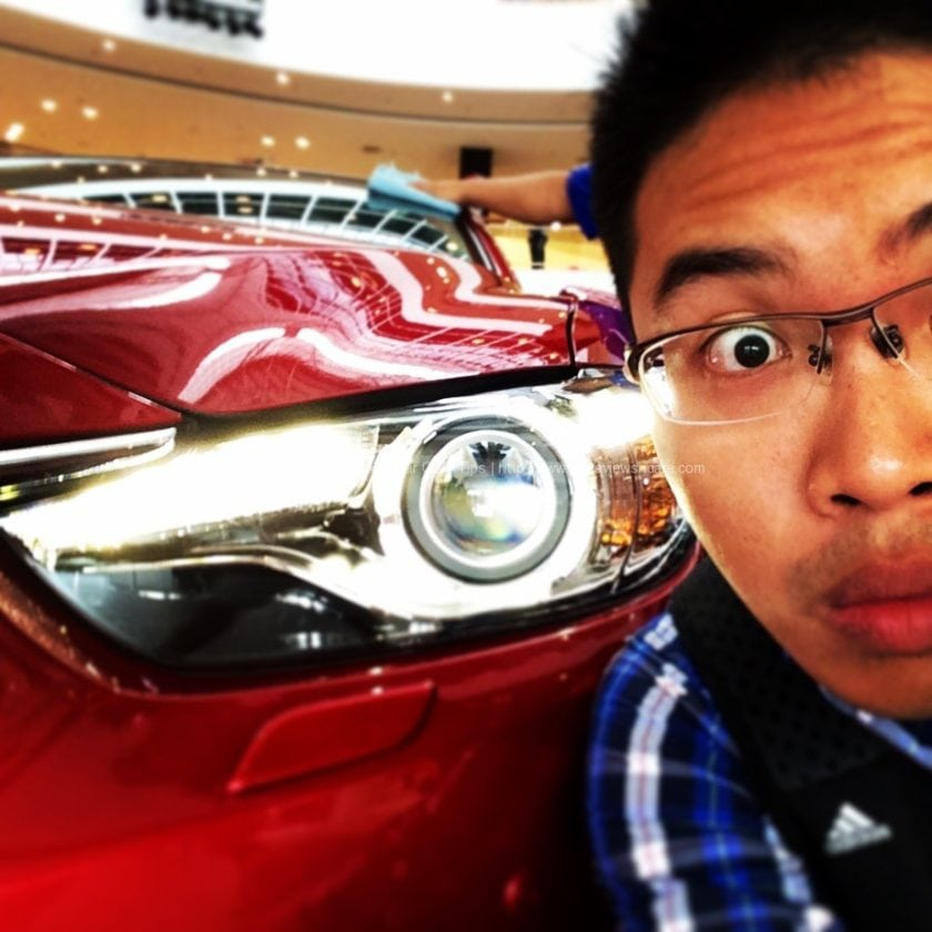 Mazda Selfie Contest at Queensbay Mall