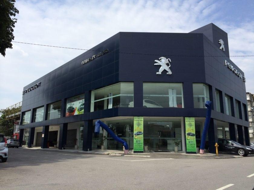 Chye Seng Peugeot Showroom