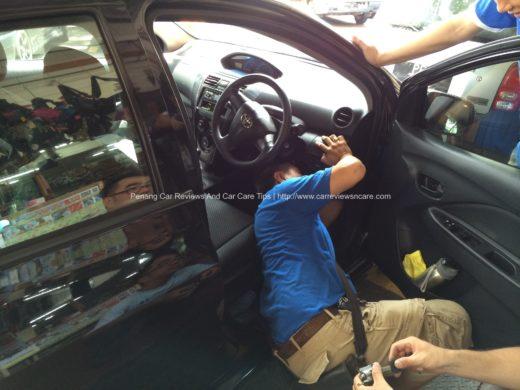 Cobra/META module installation in Toyota Vios