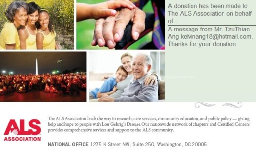 ALS Association E Card