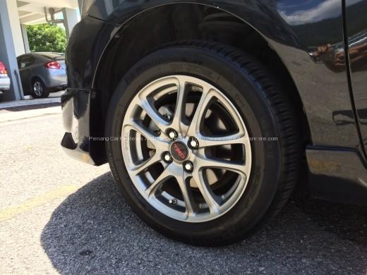 Toyota Vios TRD Sportivo Front Wheels