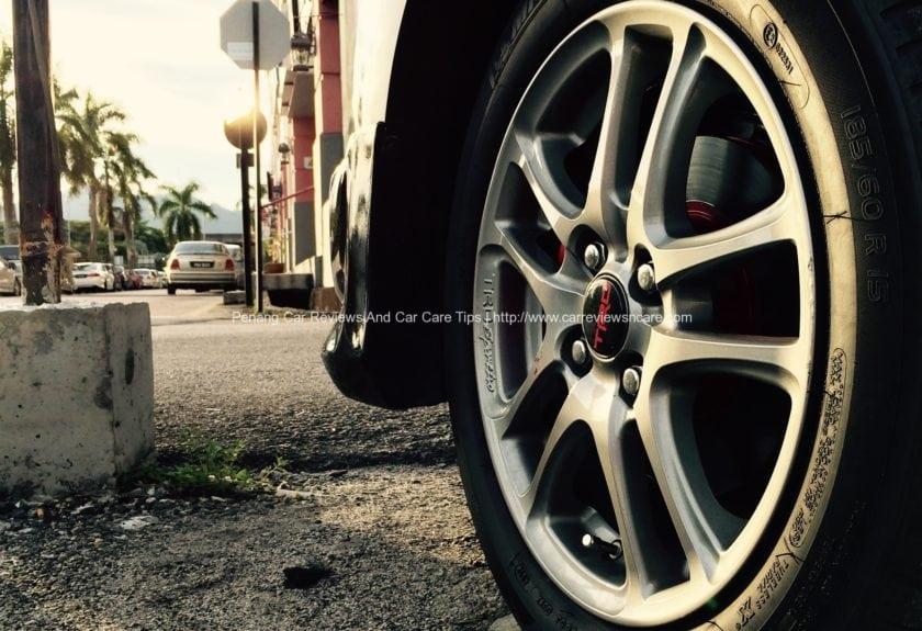 TRD Sportivo Wheel on Toyota Vios GT Street