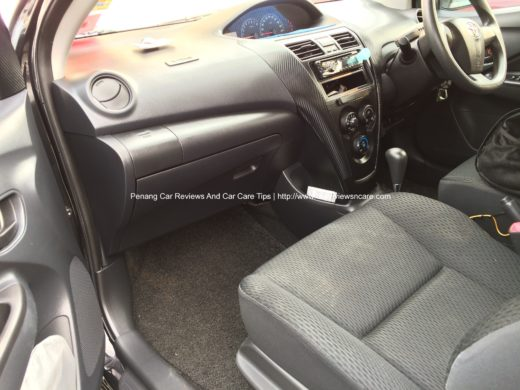 Glove Compartment in Toyota Vios