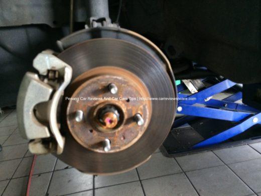 Toyota Vios Front Brake Caliper