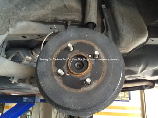 Toyota Vios Rear Drum Brake