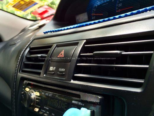 Toyota Vios Air Conditioner Vents