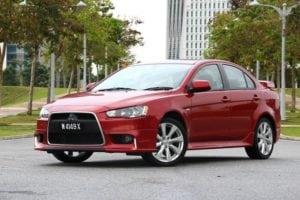 Mitsubishi Lancer 2.0 GTE Test Drive Review