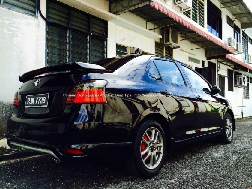 Waxed Toyota Vios GT Street