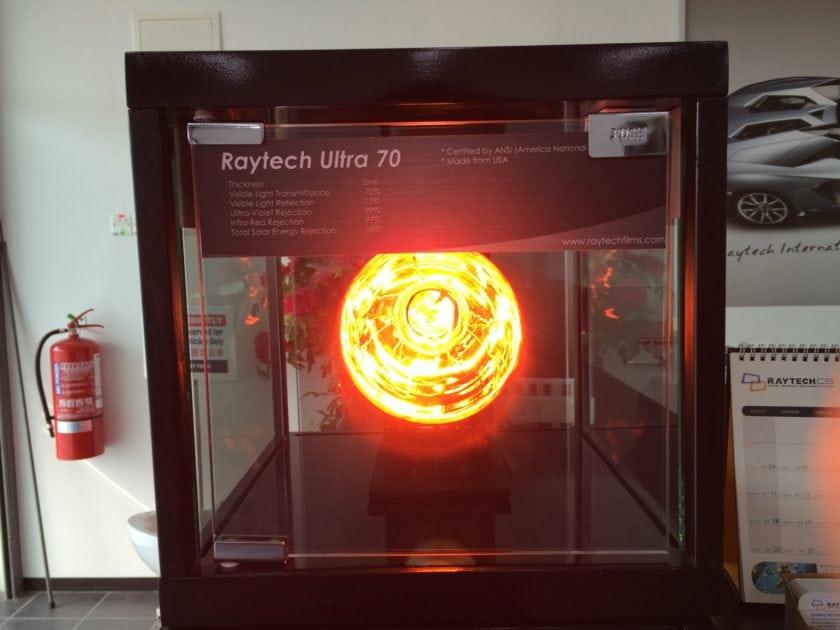 Raytech Ultra 70 Specification