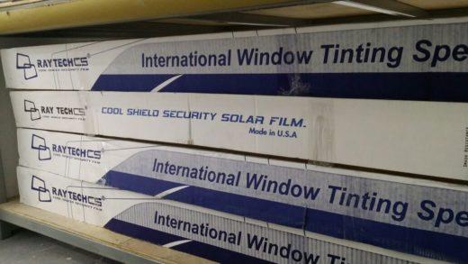 Raytech Tint Film Packaging