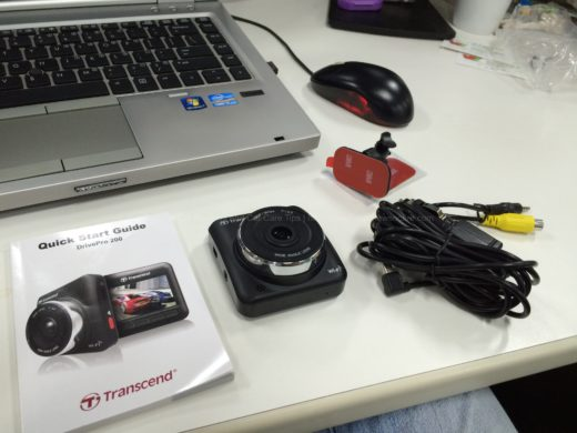 Transcend DrivePro 200  Package